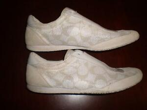 REDUCED - Coach Mesh Slip-on Shoes