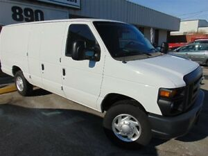 2012 Ford E-250 EXT CARGO, 3/4 TON, SIDE AND REAR BARN DOORS