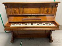 Grotrian Steinweg Upright Piano - Delivery