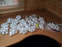 150 lus used golf balls all makes