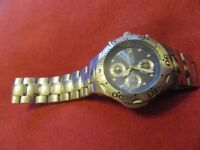 Watch mens chronograph Amadeus 200M Water resistant