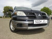 04 MITSUBISHI OUTLANDER EQUIPPE AUTOMATIC,MOT JULY 019,2 OWNERS,2 KEYS,PART HISTORY,LOVELY 4X4