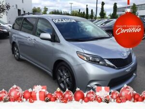 2015 Toyota Sienna SE V6 8 Passagers Cuir+Camera Recul 8 Passage