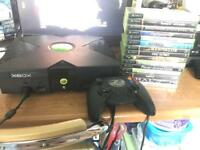 Original Xbox console & games