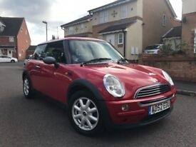 mini one, 52 reg, 12 months mot, low miles