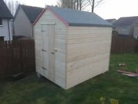 NEW 8x6 GARDEN SHED