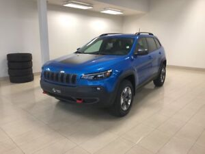 2019 Jeep New Cherokee Trailhawk V6 SafetyTech+Temps froid+GPS