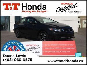 2013 Honda Civic EX* Heated Seats, Rear Camera, Sunroof*