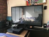 TV, TV Stand and Xbox for sale