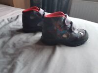 Spiderman toddler size 8 boots