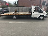 Ford transit recovery truck 2003