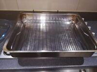Roasting tin stainless steel Owenware