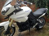 Triumph Tiger 1050 with ABS