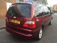 2002 FORD GALAXY 2,3 PETROL, 1OWNER FROM NEW, ONLY DONE 69,000 GENUINE MILES
