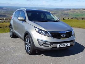 (YouTube Video ) 2011 61 KIA Sportage 3 TDi 1.7, Full Leather, Panoramic Roof, Diamond Cut Alloys