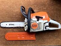 Stihl MS251 Chainsaw with extras.