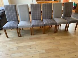Next: 6 fabric dining chairs for sale