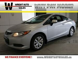2012 Honda Civic LX| BLUETOOTH| CRUISE CONTROL| A/C| 99,856KMS