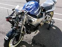 Gsxr 750 racing most parts availible