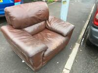 Free leather armchair for collection