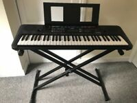 Yamaha Keyboard PSRE253. In perfect condition, withs stand. Collection only.