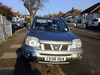 2006 NISSAN X TRAIL 4X4, 2.2 DIESEL. 6 SPEED MANUAL, VGC, NEW 4X4 TYRES,
