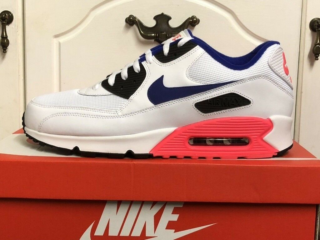 arrives bc3f0 3cc90 GENUINE BRAND NEW WITH BOX MENS SIZE 9 NIKE AIR MAX 90 TRAINERS SHOES  537384 136