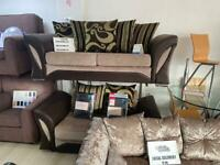 SPECIAL OFFER PRICE. 3 SEATER PLUS 2 SEATER SOFA SET. DELIVERY AVAILABLE