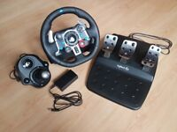 Logitech G29 Driving Force Racing Wheel and Pedals (PS4 / PS3 & PC)