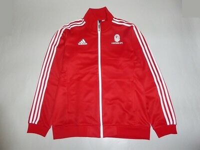 17193 adidas athletics for a bathing ape jersey top L