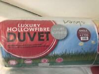 Single duvet 4.5tog many available only £6 each