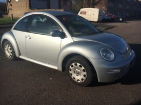 VW Beetle 1.4, 2003. 66000 Miles. 1 Owner, Excellent Drive.