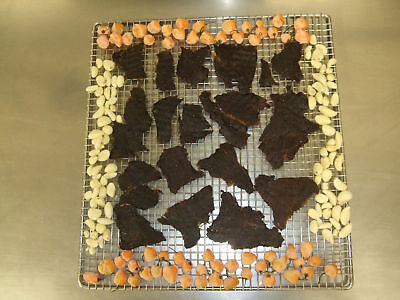 HOMESTYLE BEEF JERKY-1LB-FIRE HOT HABANERO-ALL NATURAL