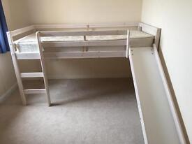 *Gone to new home*Kids single high sleeper bed with slide