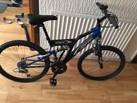 Vertigo suspension mountain bike.