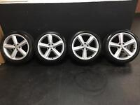 GENUINE SET OF FOUR ALLOYS AND TYRES*BARGAIN*
