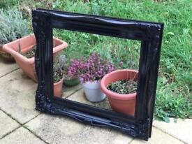 Black Gloss Mirror / Photo Frame