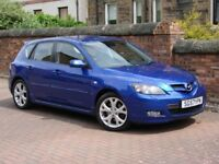 FINANCE AVAILABLE!!! 2007 MAZDA 3 2.0 D SPORT 5dr, 6 SPEED, FULL LEATHER, 1 YEAR MOT, AA WARRANTY