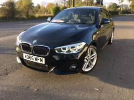 BMW 120d M SPORT 66-2017 IN BLACK 3 DOOR