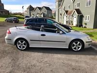 Saab Vector 2.0 Turbo Convertible 2005 Sat Nav Heated leather full MOT & Service History
