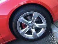 Original Audi A5 Alloys with Tyres Bridgestone and Micheline AUDI A3 A4 A5 A6