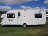 2009 Swift Corniche 18/4 Touring Caravan. Immaculate. Fixed Bed