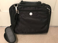 Laptop bag - compact, many compartments, excellent condition