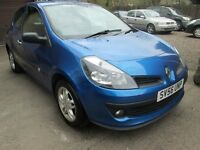 Renault Clio 1.2 16V 75 EXTREME 12 MONTHS MOT, SERVICED, 3 MONTHS WARRANTY AND 12 MONTHS AA COVER