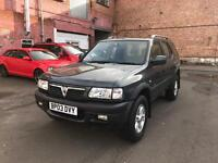 VAUXHALL FRONTERA 2.2i LIMITED EDITION SUV 5 DOOR