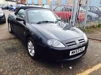 (2003) MG TF 1.6 CONVERTIBLE / 58K MILES / BLACK