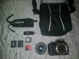 Canon EOS 400D digital 10.1MP SLR camera with Lens EF-S 18-55mm bundle