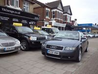 Audi A4 CABRIOLET 2.5 TDI 2dr 90,000 miles Full Service History, Long Mot, New Timing Belt @79000