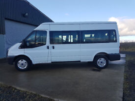 Ford Transit Minibus 15 Seats – Super Low Miles, Previously council owned, excellent condition
