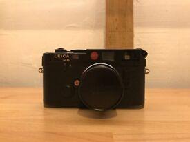 Leica M6 Classic Black + 50mm Summicron lens
